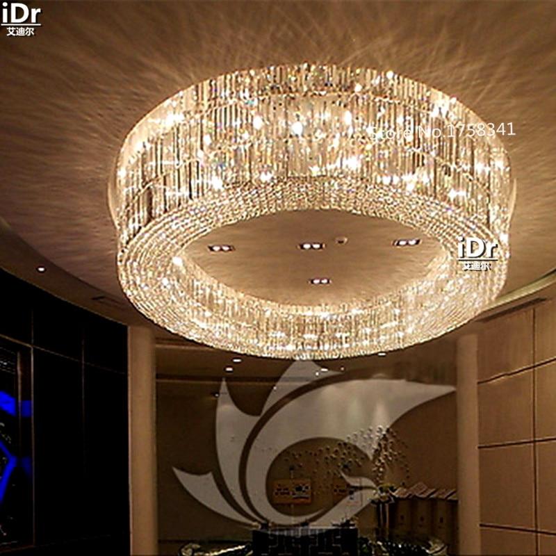 Luxury Villa Living Room High Quality Crystal Lamp