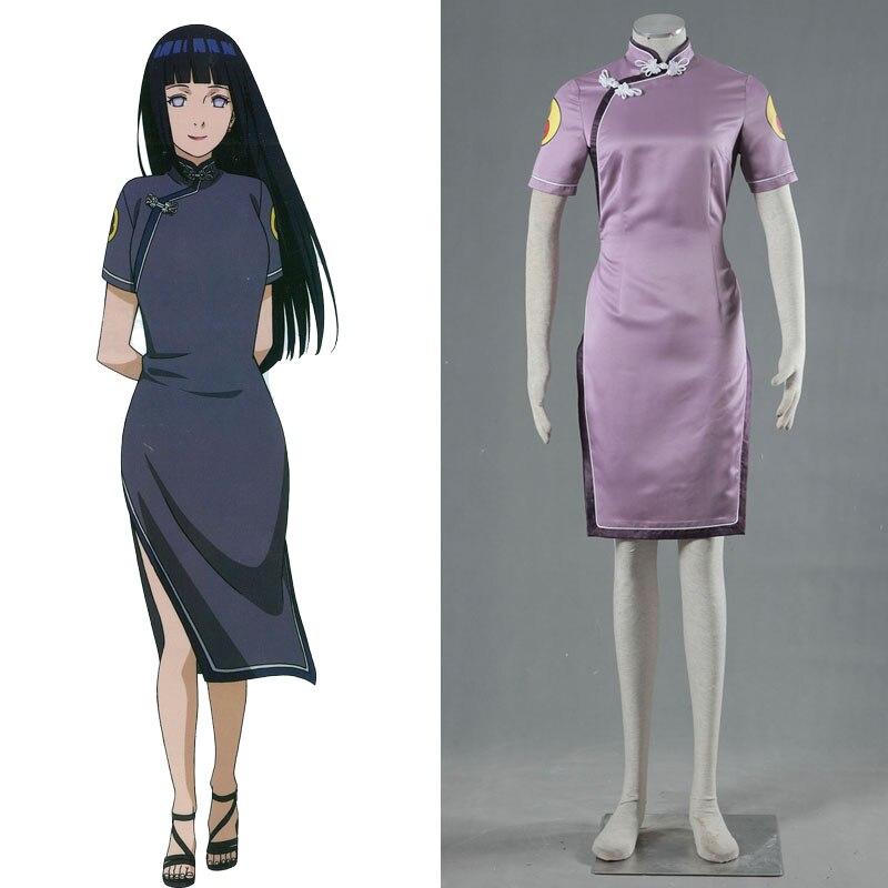 font b Naruto b font Girls font b Cosplay b font Clothing for Hyuga Hinata