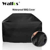 WALFOS marca impermeable BBQ Grill Barbeque cubierta al aire libre Rain Grill Barbacoa Anti polvo Protector para Gas carbón eléctrico Barbe