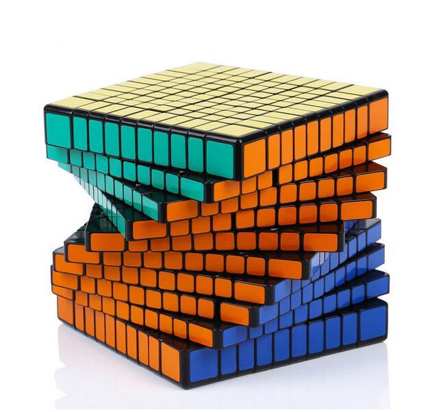 S hengshou 102มิลลิเมตร10x10x10 Cube 10*10บิดปริศนาการศึกษา-ใน ลูกบาศก์มหัศจรรย์ จาก ของเล่นและงานอดิเรก บน   1
