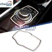 Interior Refit Multimedia Buttons Cover Car Accessories For BMW E46 E52 E53  E60 E90 E91 E92