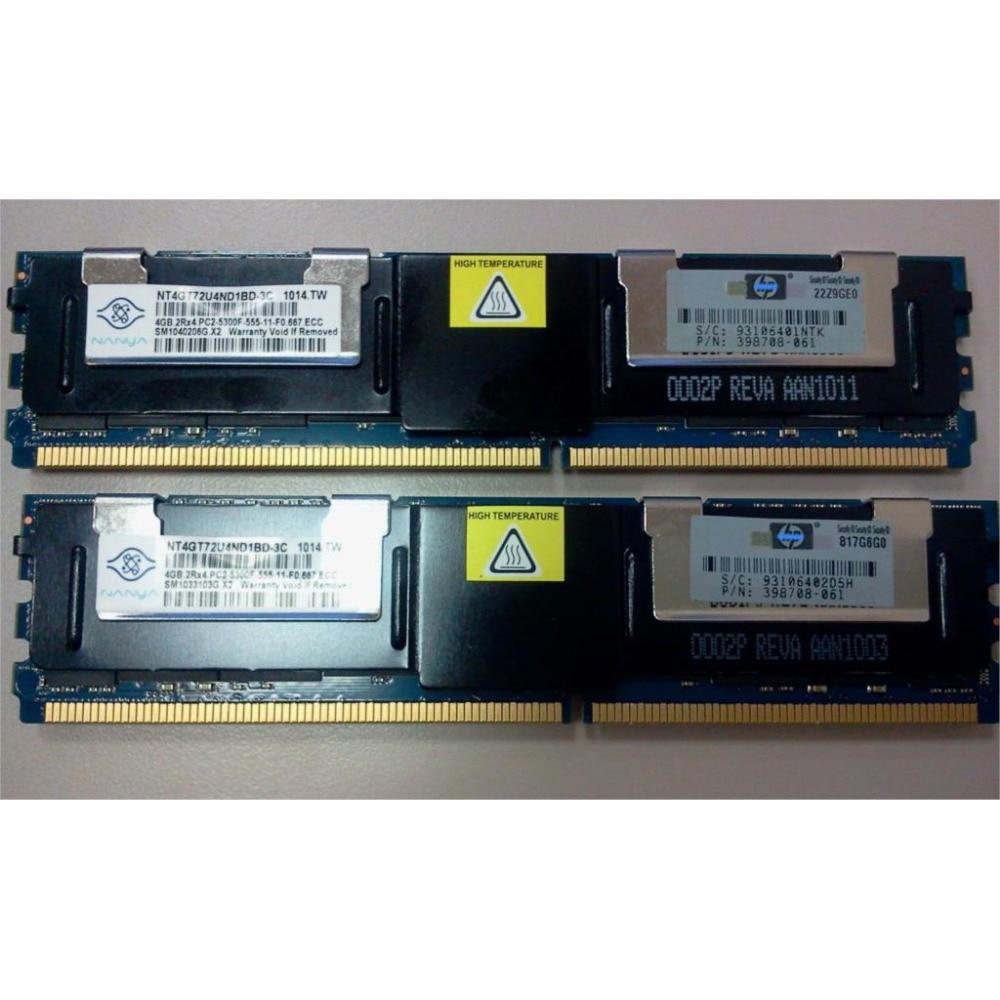 Serverimälu Hynix HP DDR2 4GB 8GB DDR 2 667MHz PC2-5300 2Rx4 4Rx4 - Arvuti komponendid - Foto 4