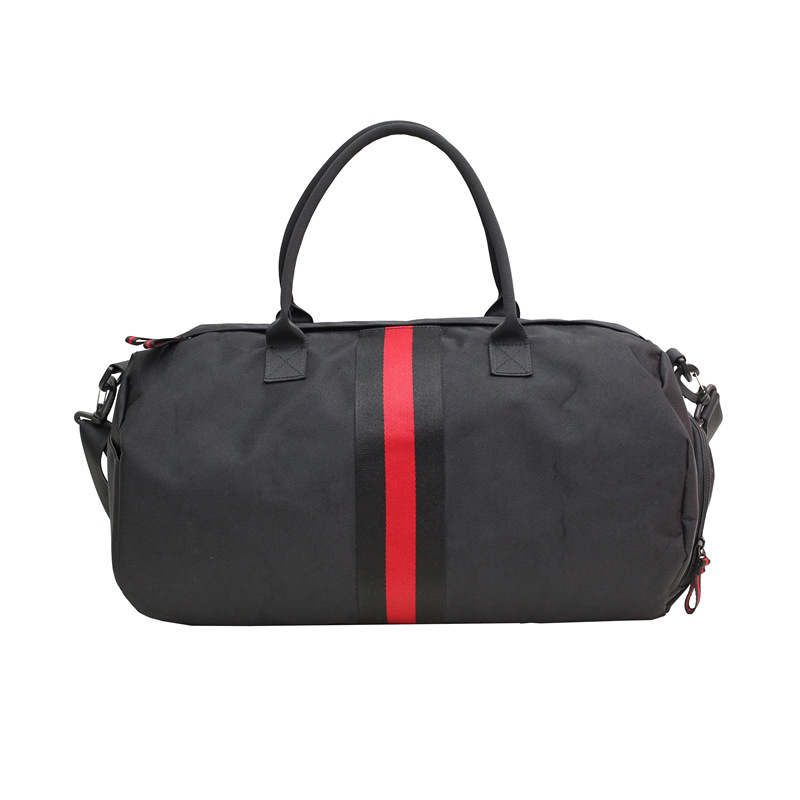 Duffle-Bag Travel-Bags Luggage Ttriped Large-Capacity Waterproof Fashion Casual Print