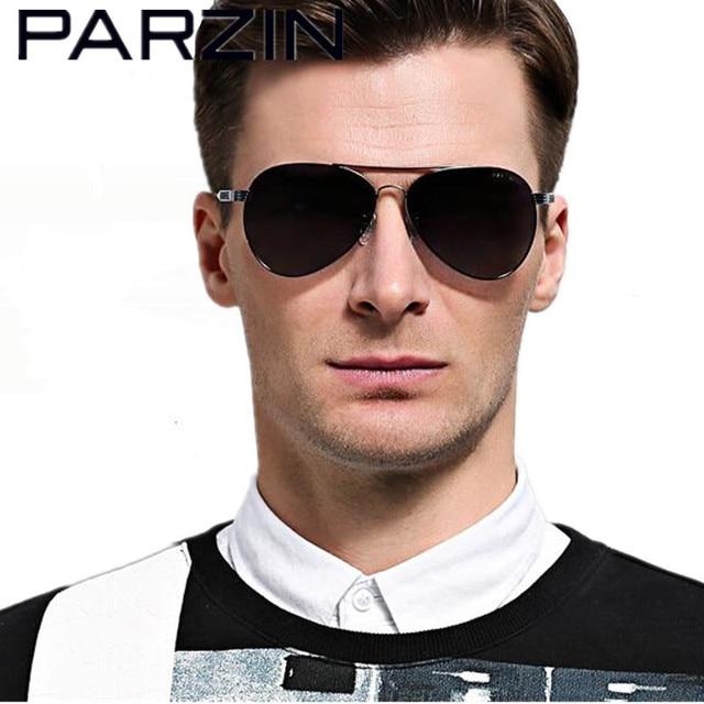 sunglasses men  Aliexpress.com : Buy Parzin Polarized Men Sunglasses HD Polarized ...