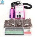 OPHIR Elektrische Nail Boormachine voor Nail Art Manicure Pedicure Tool 30x Boren 80 120 180 schuren Bands_KD139 + 163 + 165