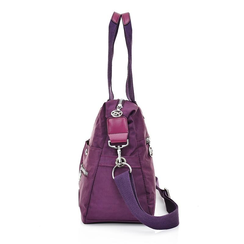 Fashion Womens Shoulder bag Lightweight Travel Crossbody Bag Waterproof Messenger Bag For Ladies Tote Large Nylon Casual Handbag