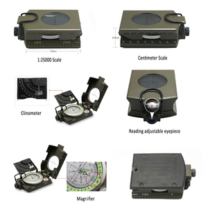 Image 5 - Outdoor Survival Military Compass Camping Hiking Water Compass Geological Compass Digital Compass Camping Navigation Equipment