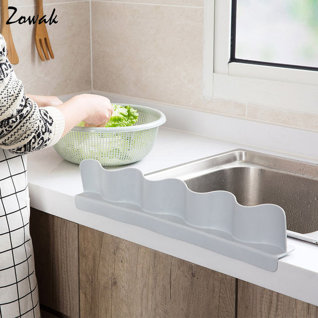 Sink Water Splash Guard Wave Water Splash In Kitchen Water Baffle