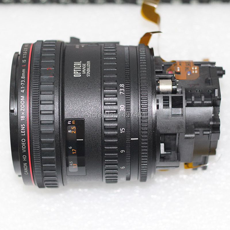 New optical Zoom lens without COMS Repair parts for Canon XF300 XF305 XF-300 Digital video new optical zoom lens ccd repair part for canon powershot sx530 hs pc2157 digital camera
