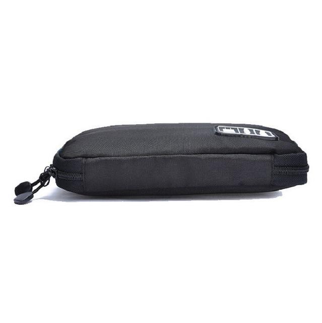 Cestovná taška Nylon cestovná taška pre elektronické príslušenstvo Pamäťová karta Mobilný telefón Organizéry pre slúchadlá USB SD karty Nabíjačka Dátový kábel Cestovná taška Pack Case Travel
