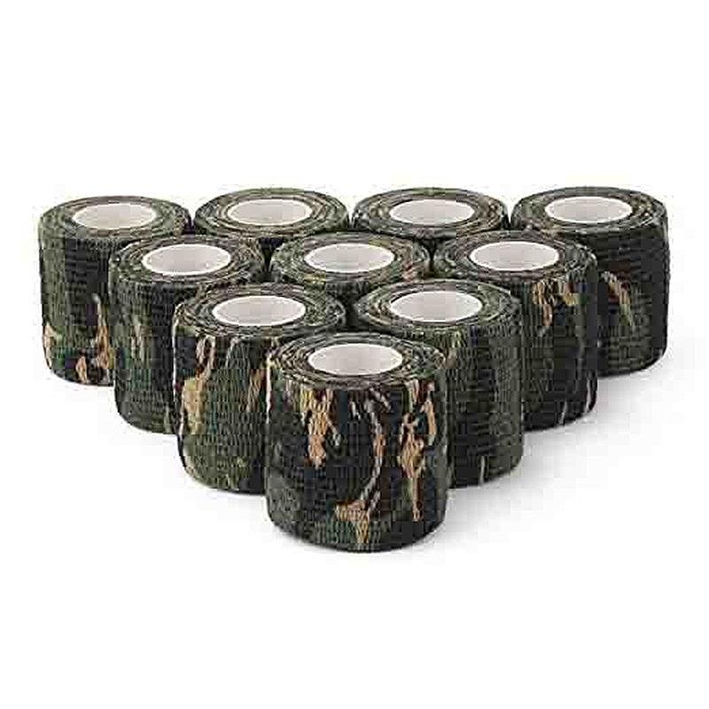 ALI shop ...  ... 32860287004 ... 1 ... Camouflage Tapes Tactical Flashlight Knife Bandage 5CM * 450CM Self-adhesive Non-woven Natural Latex Camo Stretch Bandage ...