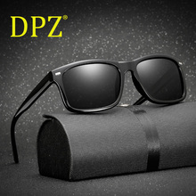 DPZ Men Polarized Glasses Car Driver Night Vision Goggles Anti-glare Polarizer Sunglasses