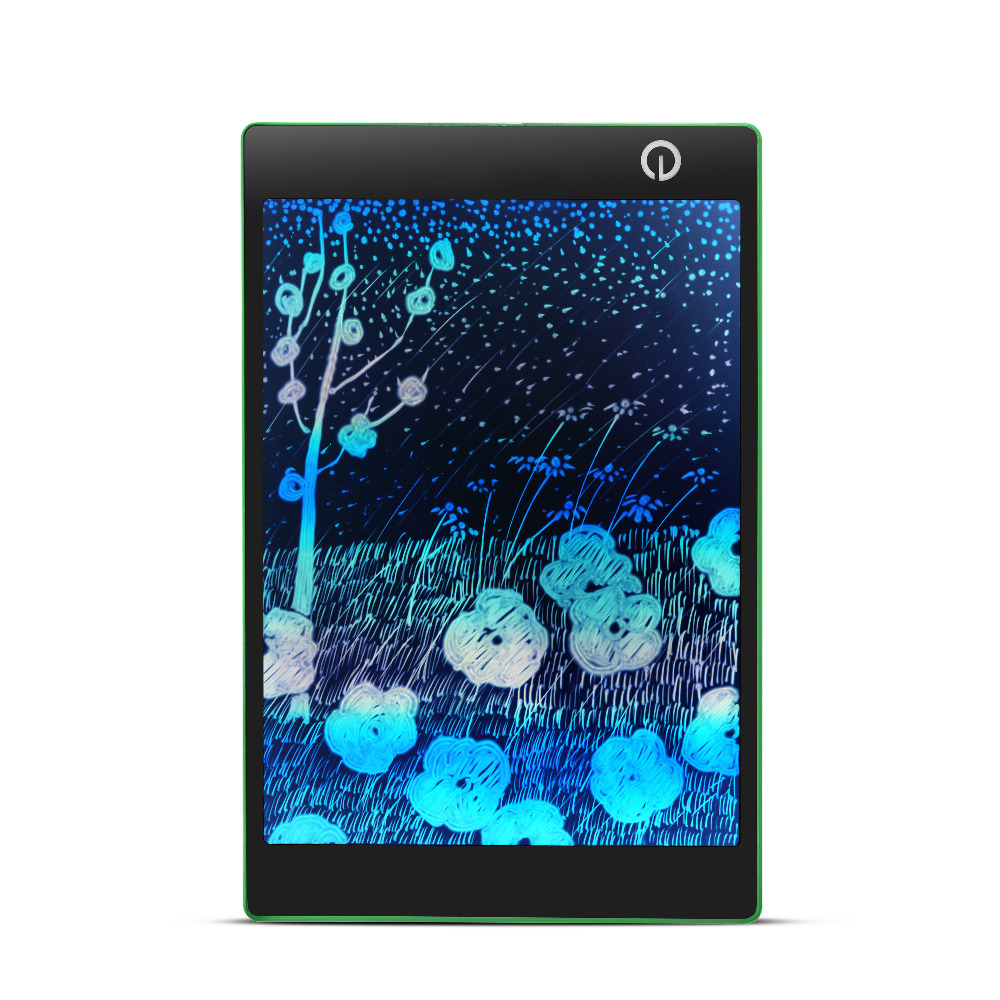 9.7 Inch Rainbow LCD Electronic Writing Erase Drawing Board Environmental protection Multifunction Paperless Handwriting Board цена и фото