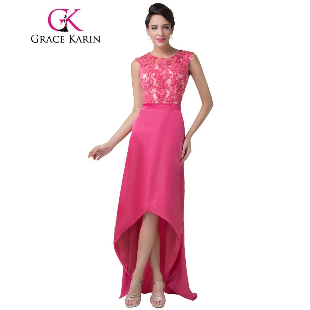 Grace Karin vestido de noche trasero largo delantero corto elegante ...