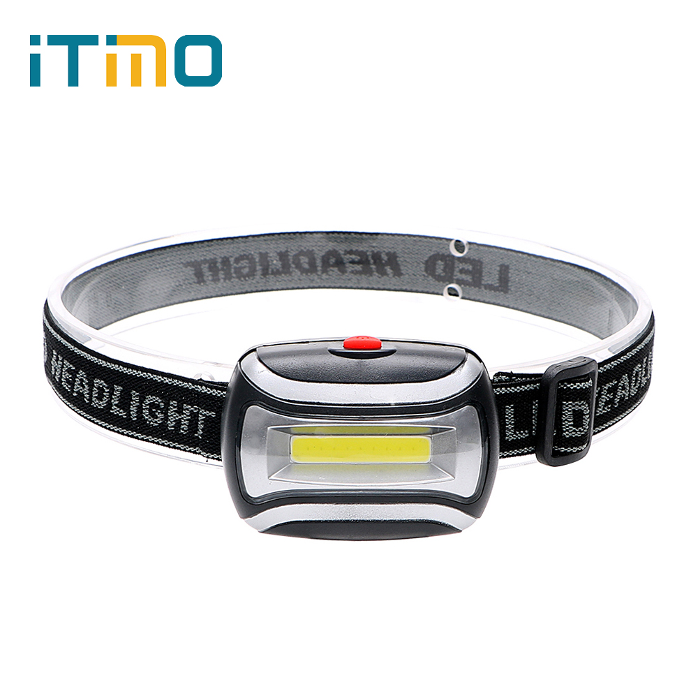iTimo LED Headlamps 3 Modes 400LM Portable Lighting Adjustable Emergency Light Super Bright Flashlight Outdoor Activity Light