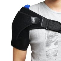 Aptoco Shoulder Flexible Gel Ice Pack With Elastic Straps For Hot Cold Therapy Great For Sprains
