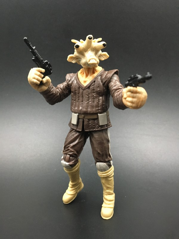 3.75''118 Star War action figure Return of Jedi  Ree-Yees model toy Free shipping  S008