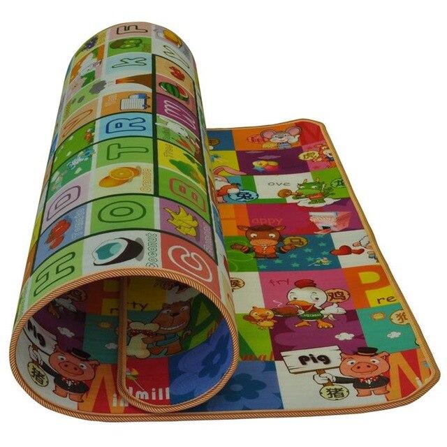 HOGNSIGN bébés tapis rampant bébé escalade Pad jeu mousse tapis couverture TEducational doux Sports enfants jouer jouets cadeaux amusants