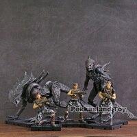 HIYA TOYS Aliens Colonial Marines Cruz Bella Redding Xenomorph Raven Crusher 1:18 PVC Action Figure Toy