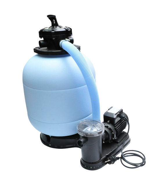 Swimming pool blow hose sand filter for above ground pool with Fuji pump