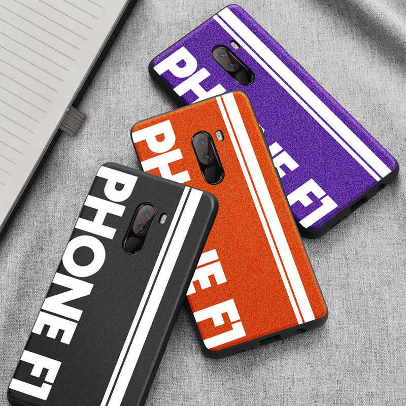 Для Xiaomi Pocophone F1 чехол оригинальный спортивный уличный кожаный мягкий защитный чехол для Pocofone F1 чехол для POCO F1 чехол capa