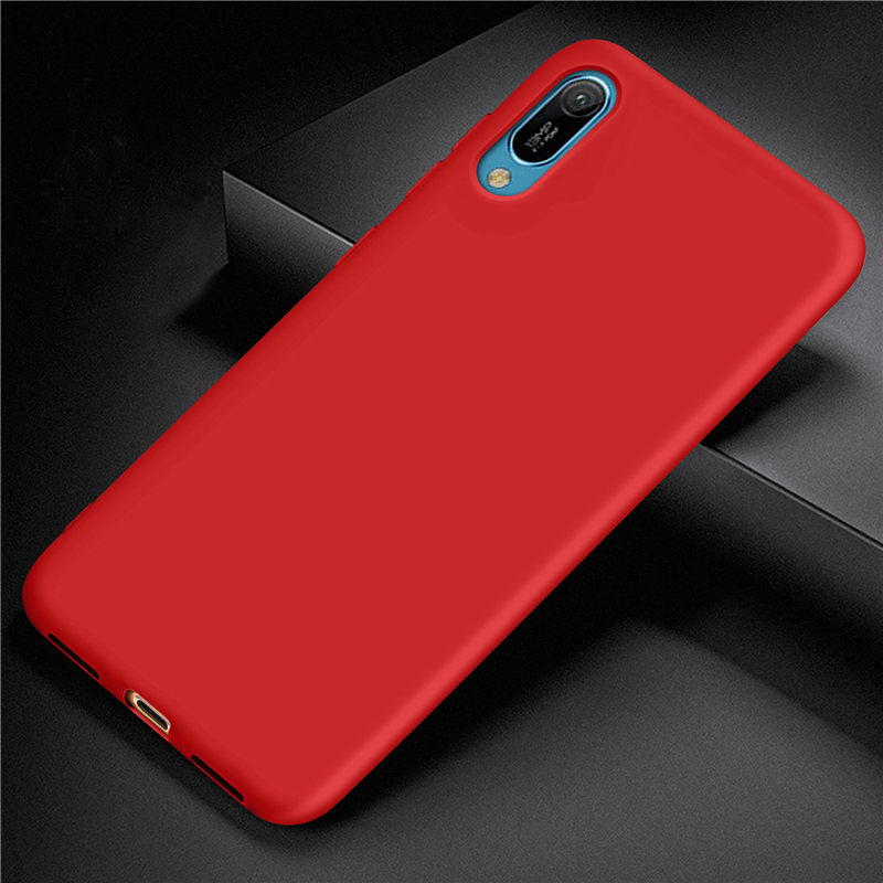For Huawei Y6 Pro 2019 Case Cover for Huawei Y6 Pro 2019 Rubber Silicone Armor Protective TPU Phone Case For Huawei Y6 Pro 2019 in Fitted Cases from Cellphones Telecommunications