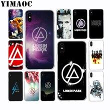 YIMAOC Linkin Park Chester Soft Silicone Case for Apple Iphone 11 Pro Xr Xs Max X 10 8 Plus 7 6S 6 SE 5S 5 7Plus 8Plus