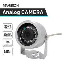 """Мини 1/"""" SONY Effio-E 800TVL CCTV камера 12LED ИК ночного видения Водонепроницаемая наружная камера безопасности(OSD опционально"""