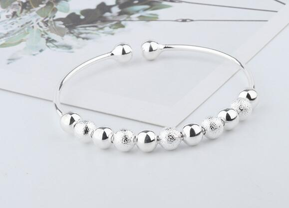 YPD100 925 Silver Lady bracelet with Zircon Girls Wedding bracelet
