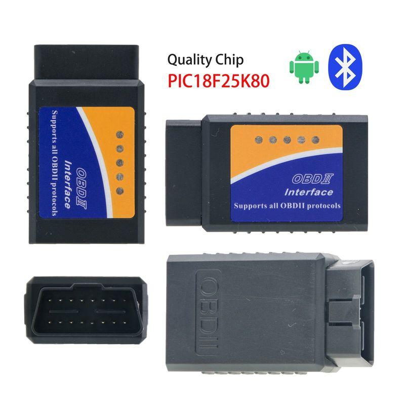 Bluetooth v1.5 ELM327 25k80 núcleo Instrumento de Diagnóstico OBD