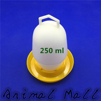 250 ML Quail Drinking Cups Chicken Birds Pheasant Feeders Waterer Automatic Drinking Tool Farm Tools Pigeon