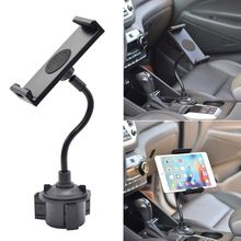 Universal Gooseneck Adjustable Car Cup Holder Mount Cradle for iphone iPad Samsung Galaxy Xiaomi Huawei 5.5-11 Cellphone or Ta