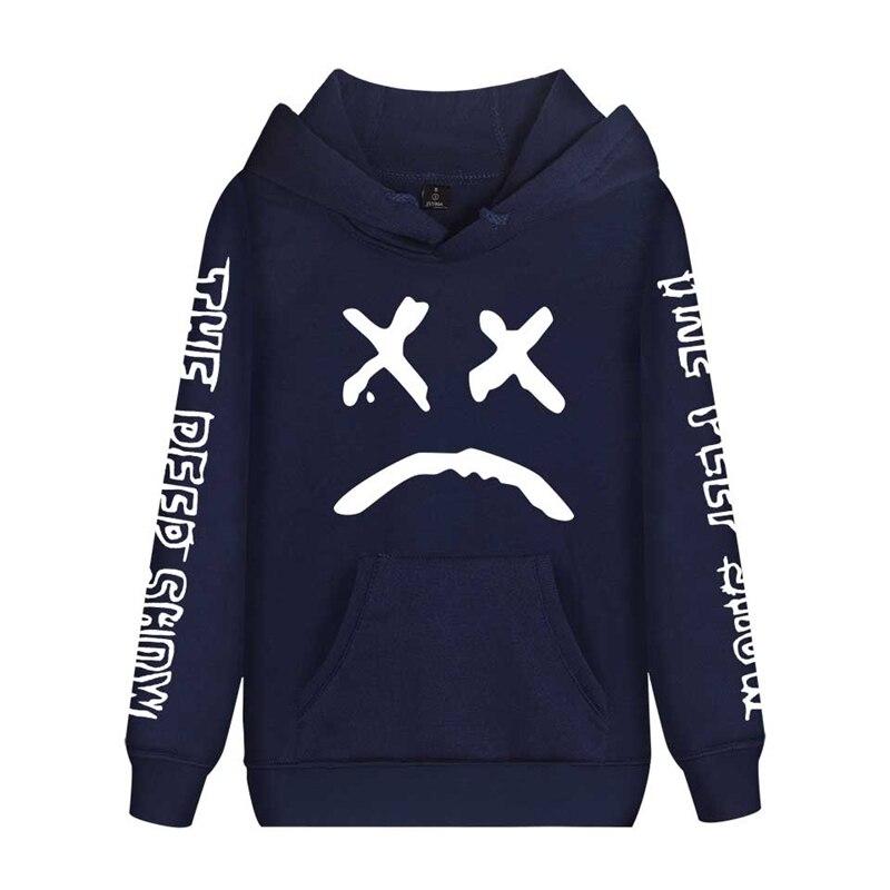 Image 4 - Cap&Mask as gifts Lil Peep hoodies men women boy girl sweatshirts hip hop Rapper Bboy DJ dancer DJ hooded jacket tracksuits coat-in Hoodies & Sweatshirts from Men's Clothing