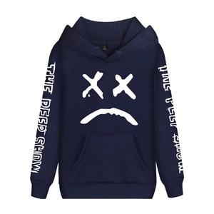 Image 4 - Cap&Mask as gifts Lil Peep hoodies men women boy girl sweatshirts hip hop Rapper Bboy DJ dancer DJ hooded jacket tracksuits coat