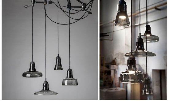 Moderne Keuken Lampen : Moderne keuken lampen glas lampenkap lens kom hanger lampen led