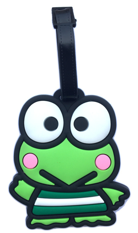 Boarding Pass Luggage-Tag Travel-Accessories Identification-Card Keroppi Cartoon Check-Card