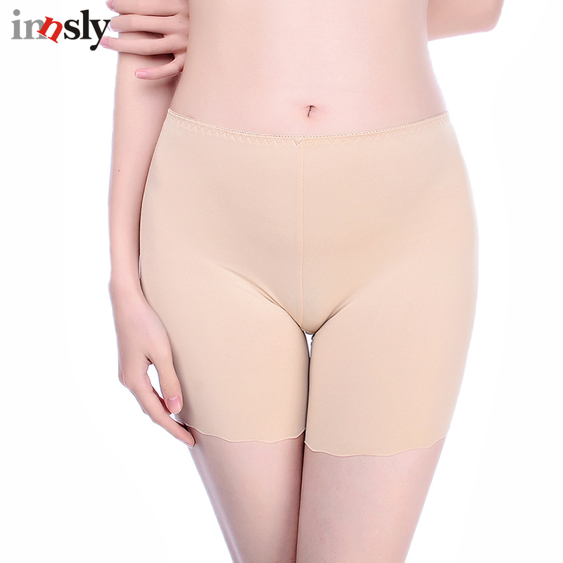 Innsly Safety Short Pants Under Skirts For Women Boyshorts Panties Seamless Big Size Fem ...