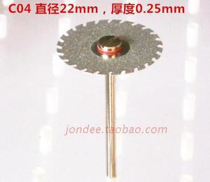 Image 5 - 12 pces dental ultra fino dupla face disco de corte de diamante para separar polimento cerâmica coroa gesso ou jade