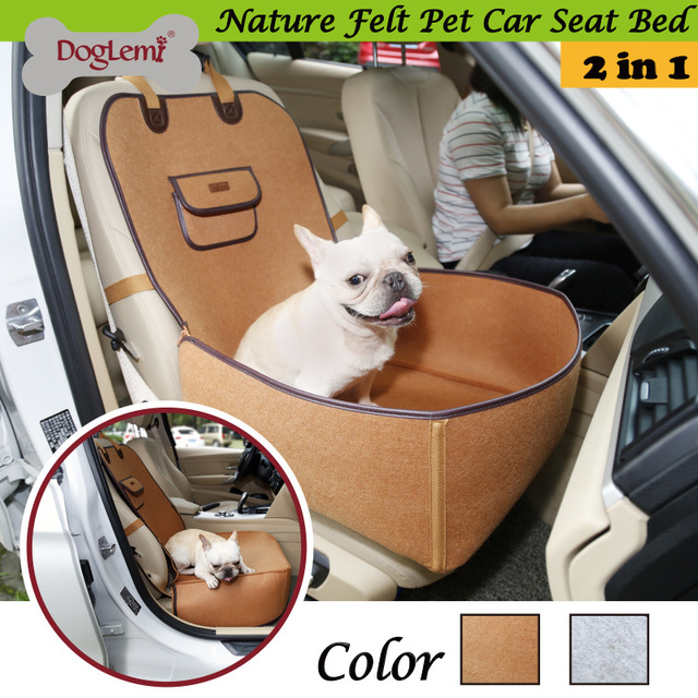 DogLemi Pet Car MatsNature Range Dog Front Seat Cover Protector For Cars