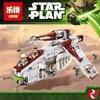Lepin 05041 Genuine Star War Series The The Republic Gunship Set Educational Building Blocks Bricks Toys