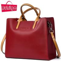 BVLRIGA Luxury Brand Messenger Shoulder Cross Body Women Bag Genuine Leather Bag Women Messenger Bags Female