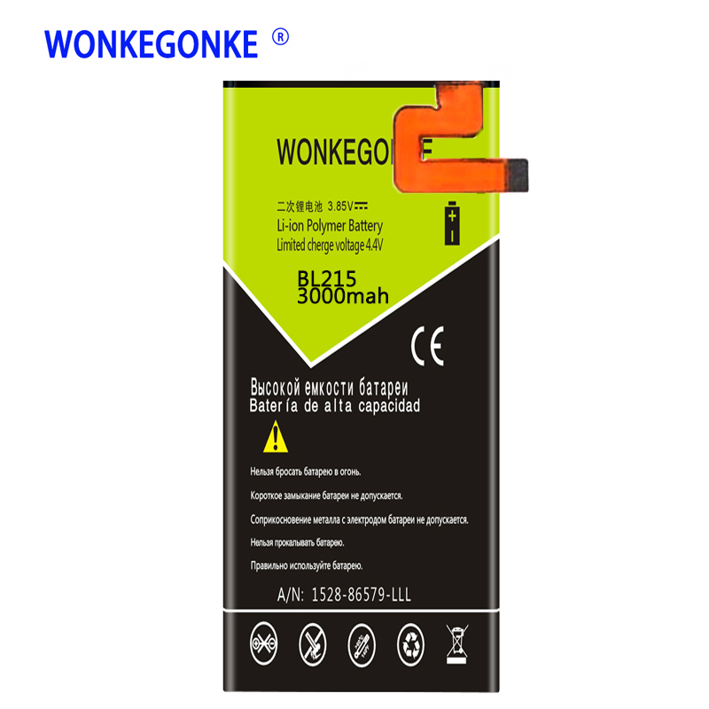 WONKEGONKE BL 215 BL215 <font><b>Battery</b></font> for <font><b>Lenovo</b></font> VIBE X <font><b>S960</b></font> S968T <font><b>Batteries</b></font> Bateria image