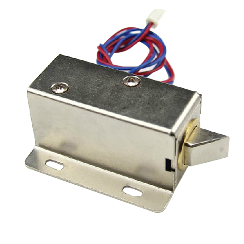 Newly DC 12V/24V Open Frame Type Solenoid For Electric Door Lock DC128