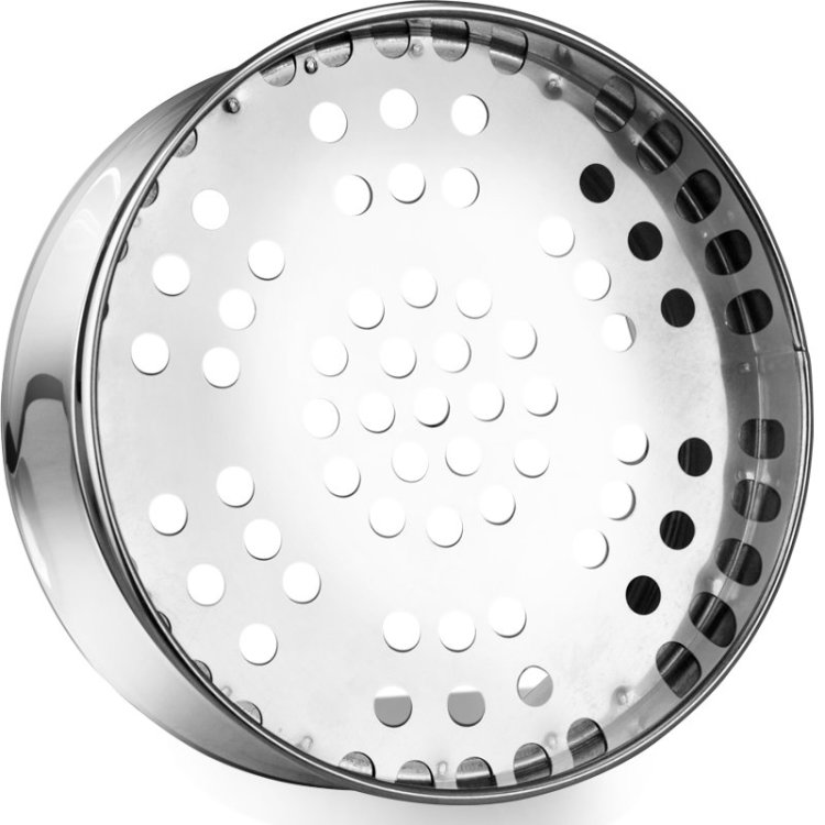 Kitchen appliances tools thick non-magnetic stainless steel steamer steamer the lid 22-30cm cage body 26cm-2