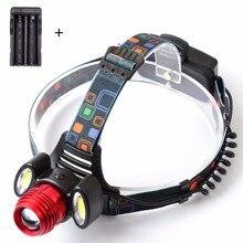 NEWEST  6000 Lumen CREE XM-L T6 LED Headlamp Headlight Caming Hunting Head Light Lamp 4 Modes + AC Charger