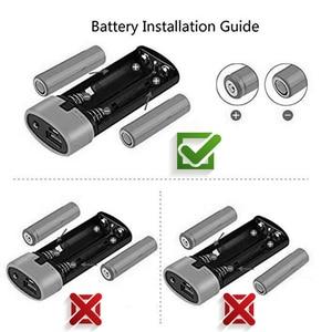 Image 5 - Kebidumei 2X 18650 USB Power Bank Ladegerät Fall DIY Box für telefon poverbank Für iPhone tragbare lade Externe Batterie