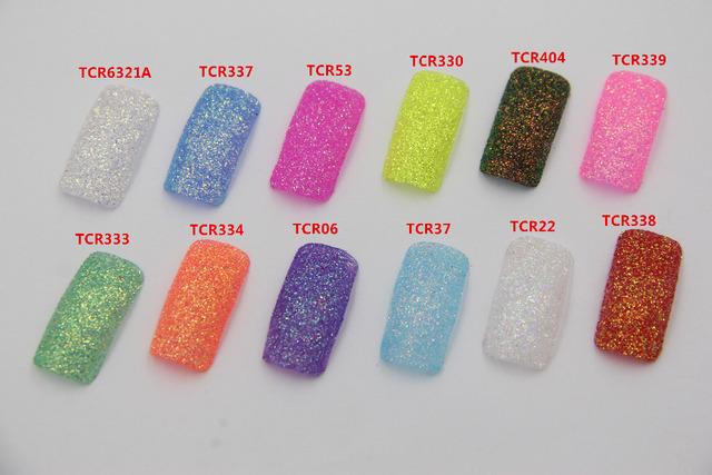 TCRHT-003 Americano Fantasía Iridescent Rainbow Color 0.2 MM Tamaño del brillo para el Arte del clavo u otros DIY decoración