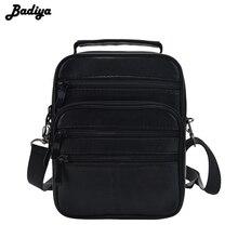 Casual Men's Business Genuine Leather Mini Crossbody Bag Sheepskin Small Men Single Shoulder Messenger Bags High Quality Bolsa  цена в Москве и Питере