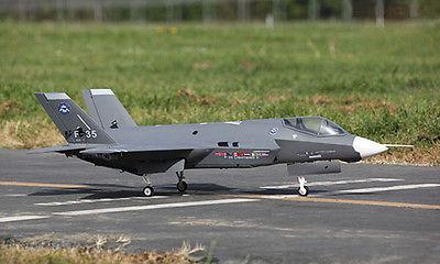 SkyFlight LX EPS 70MM EDF F35 Lighting II RC Jet KIT Airplane Model W/O Motor Servos ESC Battery