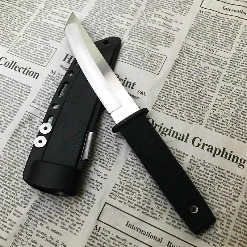 ABS kolu 58HRC av bıçağı 440C alan hayatta kalma bıçağı çok fonksiyonlu hayatta kalma aracı koleksiyon hediyeler